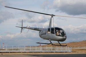 最新のR44 エアコン付き 今日で二日目です